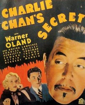 Charlie Chan's Secret - Image: Charlie Chan's Secret Film Poster