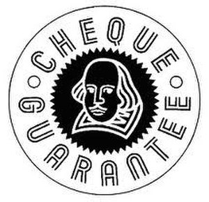 Cheque guarantee card - Logo of the United Kingdom domestic cheque guarantee card scheme since 1990
