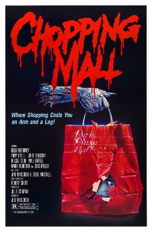 Chopping Mall - Theatrical release poster