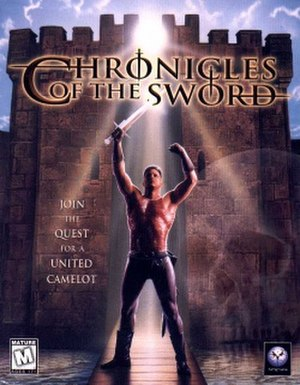 Chronicles of the Sword - North American cover of the PC version
