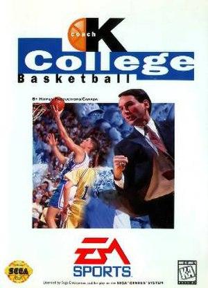 Coach K College Basketball - Cover art
