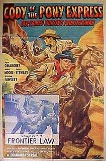 <i>Cody of the Pony Express</i> 1950 film by Spencer Gordon Bennet