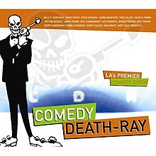 Comedy Death-Ray album cover from 2007.jpg