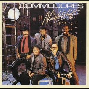 Nightshift (album) - Image: Commodores nightshift album cover