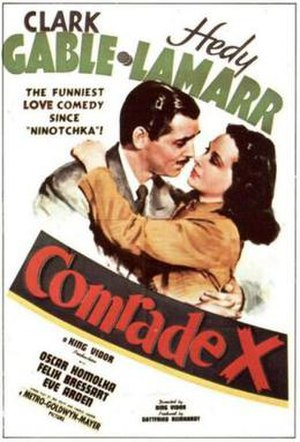 Comrade X - 1940 US Theatrical Poster