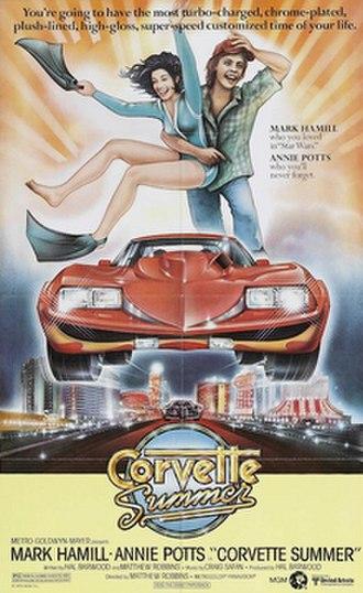 """Corvette Summer - DVD cover of """"Corvette Summer"""""""