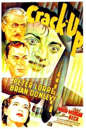 Crack-Up (1936 film) - 1936 Theatrical Poster