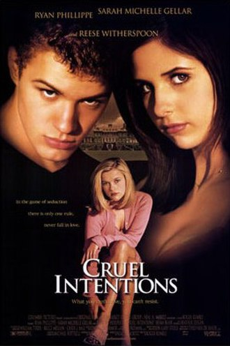 Cruel Intentions - Theatrical release poster