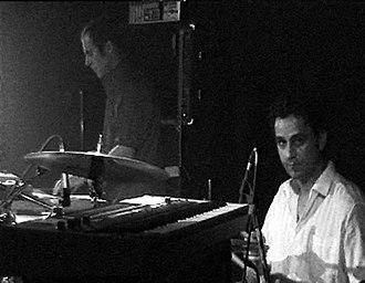 Die Goldenen Zitronen - Bandmembers Julius Block (back) and Enno Palucca (in front)