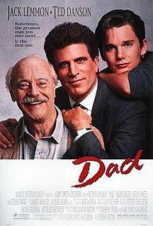 <i>Dad</i> (film) 1989 film by Gary David Goldberg