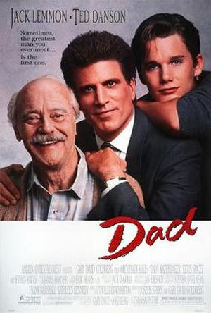 Dad (film) - Theatrical release poster