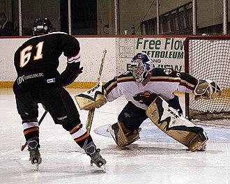 Greater Metro Junior A Hockey League - Deseronto Thunder versus King Wild (circa 2006)