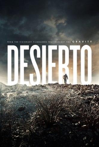 Desierto - Theatrical release poster