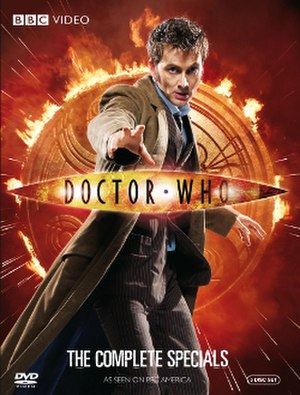 Doctor Who (2008–2010 specials) - DVD box set cover art