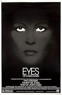 <i>Eyes of Laura Mars</i> 1978 film by Irvin Kershner