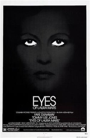 Eyes of Laura Mars - Theatrical release poster