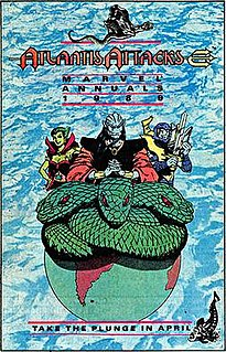 Atlantis Attacks US 1989 comic book crossover