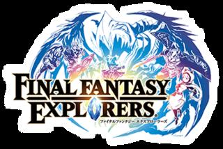 <i>Final Fantasy Explorers</i> Video game for the Nintendo 3DS