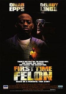 <i>First Time Felon</i> 1997 American film