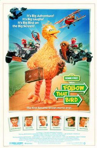 Sesame Street Presents: Follow That Bird - Theatrical release poster by Steven Chorney