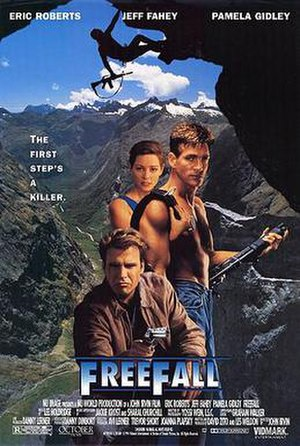 Freefall (1994 film) - Video release poster