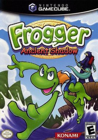 Frogger: Ancient Shadow - GameCube cover art