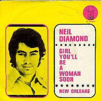 Girl, You'll Be a Woman Soon - Image: Girl, You'll Be a Woman Soon cover