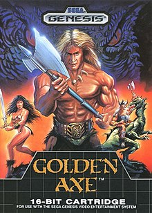 Vintage Arcade Games >> Golden Axe (video game) - Wikipedia