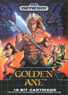 <i>Golden Axe</i> (video game) 1989 beat em up video game
