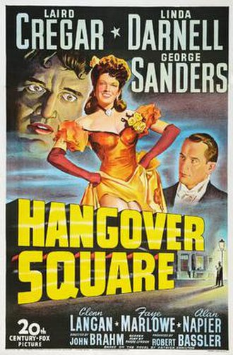 Hangover Square (film) - Theatrical release poster