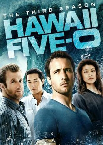 Hawaii Five-0 (2010 TV series, season 3) - Season 3 U.S. DVD cover