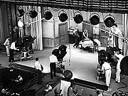 The Honeymooners was filmed using three Electronicams.