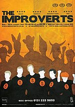 Improverts publicity for the fringe 2012