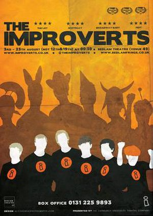 Improverts - Improverts publicity for the fringe 2012