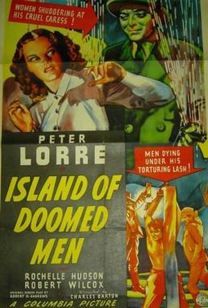Island of Doomed Men - Image: Island of Doomed Men Film Poster
