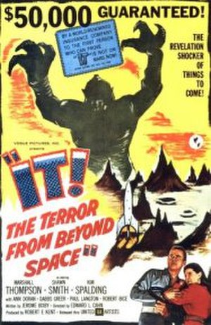 It! The Terror from Beyond Space - Theatrical release poster
