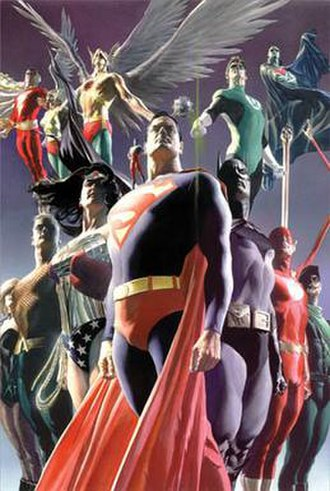 Alex Ross - Ross' rendition of the Justice League.