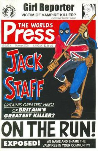 Jack Staff - Image: Jackstaffdep 0