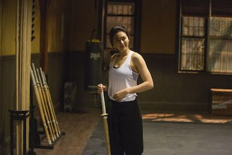 Colleen Wing - Jessica Henwick as Colleen Wing in the television series Iron Fist.