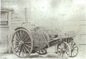 John Henry Knight - John Henry Knight Steam vehicle, circa 1868