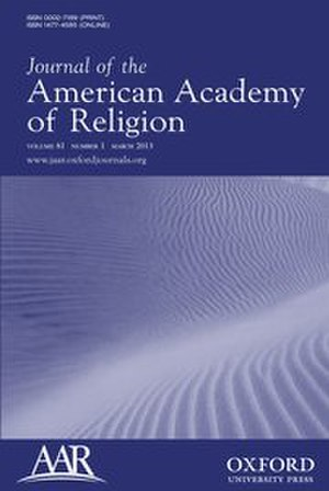 Journal of the American Academy of Religion - Image: Journal of the American Academy of Religion