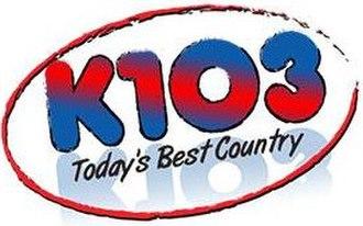 KEZS-FM - Image: KEZS K103 logo