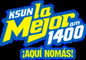 KSUN - Image: KSUN La Mejor 1400am logo