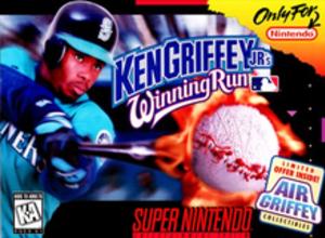 Ken Griffey Jr.'s Winning Run - Cover art