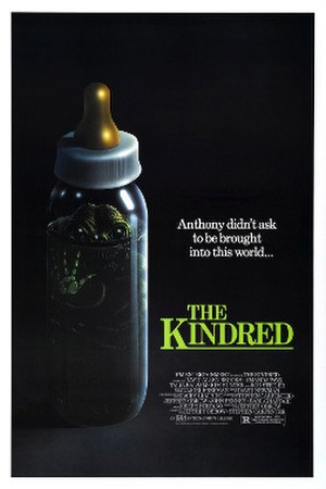 The Kindred (film) - Theatrical release poster