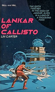 <i>Lankar of Callisto</i> novel by Lin Carter