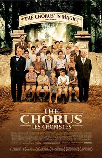 The Chorus (2004 film) - American release poster released by Miramax Films