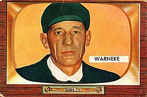 Lon Warneke - Warneke as an NL umpire, c. 1955