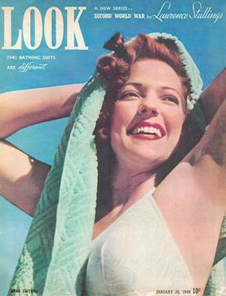 Look (American magazine) - Actress Anne Gwynne, a 1939–1940 model for Catalina Swimwear, was featured on the January 30, 1940 cover of Look.