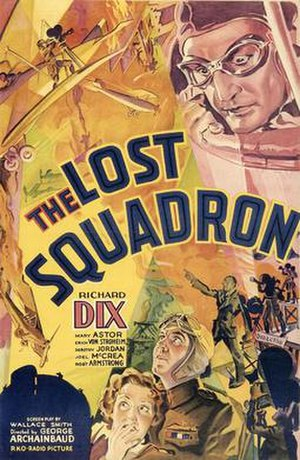 The Lost Squadron - Original theatrical poster